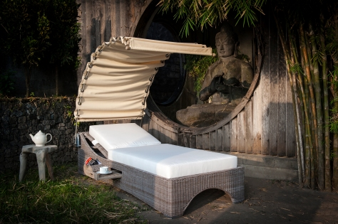 Arabella sunshade lounger IL Bella Sole