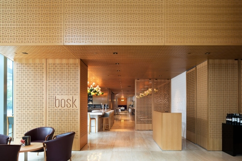 Bosk Restaurant office of mcfarlane biggar architects + designers Toronto, Canada