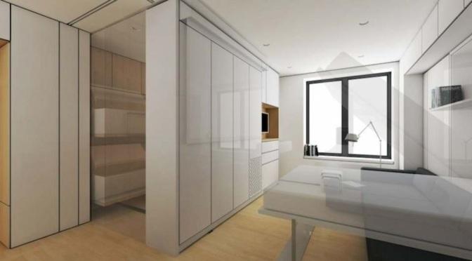 Mini Apartment Superb Design – Soho, New York – Graham Hill