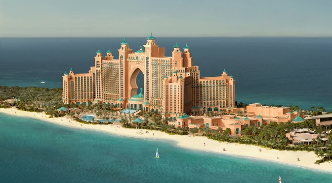 Atlantis the palm hotel luxury traveling dubai for Best hotels on the palm dubai