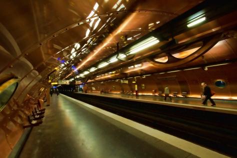 Paris France Subway