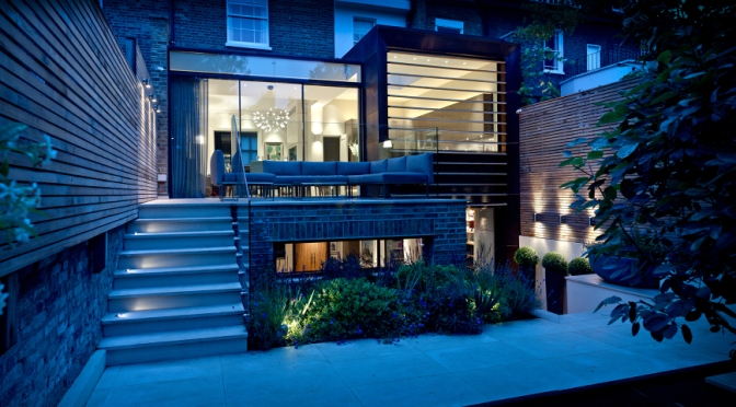Newton Road, W2 by NASH BAKER ARCHITECTS