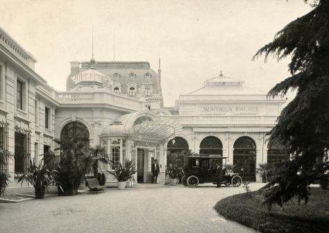 Hotel Fairmont Montreaux Palace Old