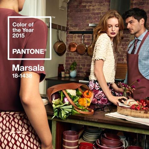 Pantone Marsala 18-1438