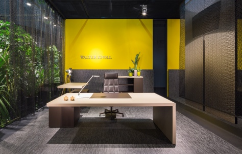 Walter Knoll exhibition stand for the Orgatec 2014