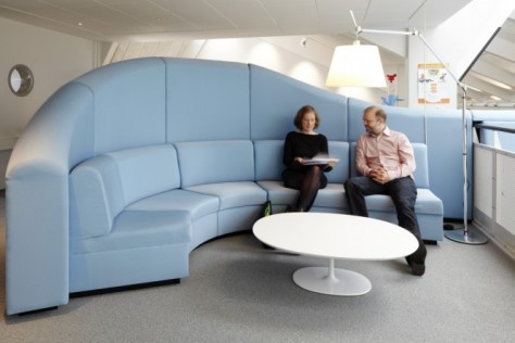 Blue-meeting-area-self-screening-sofa-665x444