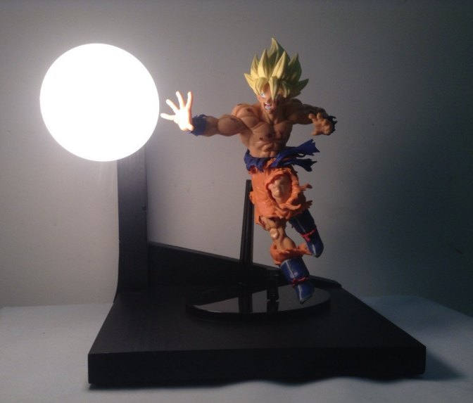 The Amazing Dragonball Lamps. You must gather them All!